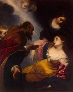 Communion of St Petronilla