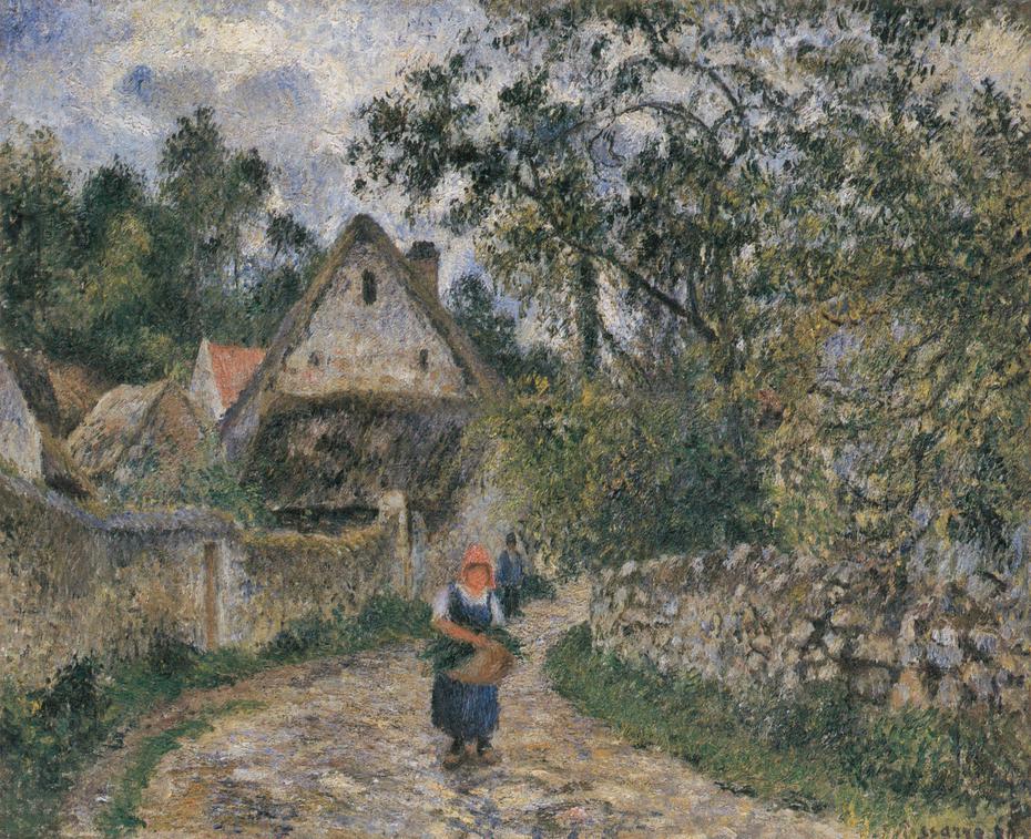 Cottages at Le Valhermeil, Auvers-sur-Oise