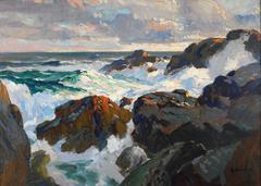 Crashing Waves (Coast of Maine)