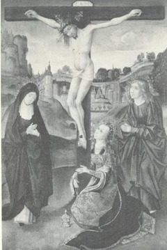 Crucifixion with May, John the Evangelist and Mary Magdalene