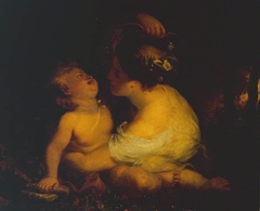 Cupid and Nymph