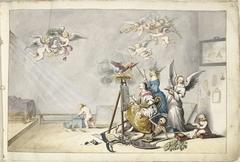 De overwinning van de Schilderkunst over de Dood