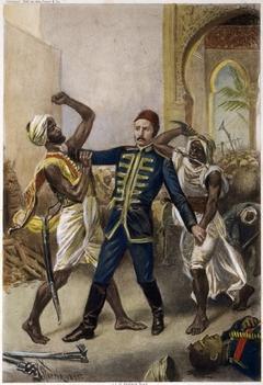 Death of General Gordon at Khartoum