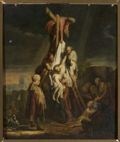 Descent from the Cross (Matthew 27:58–59; Mark 15: 45–46; Luke 23:52–53; John19:38)