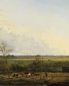 Distant View of the Meadows at 's-Graveland
