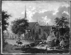 Dorflandschaft (zugeschrieben)