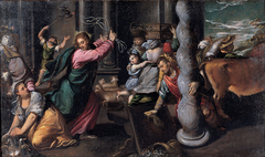 Driving of the merchants from the temple