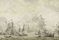 Episode from the Battle between the Dutch and Swedish Fleets in the Sound, 8 November 1658