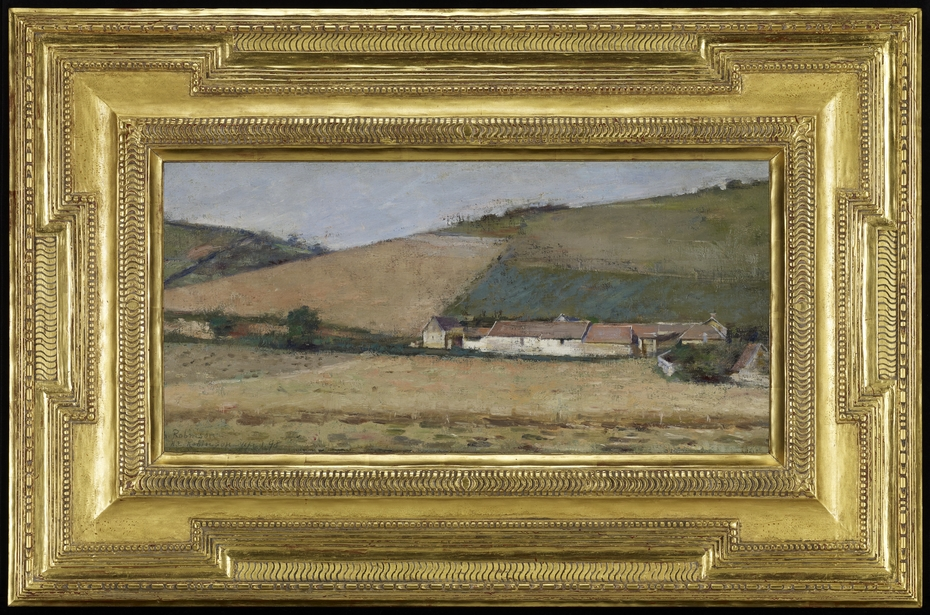 Farm Among Hills, Giverny