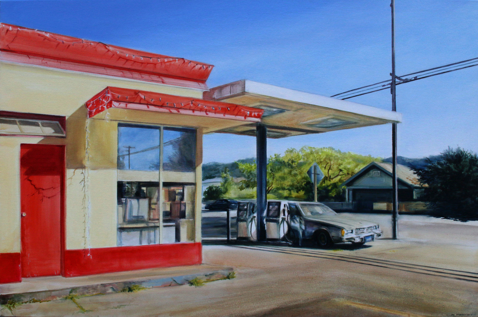 Gas Station California