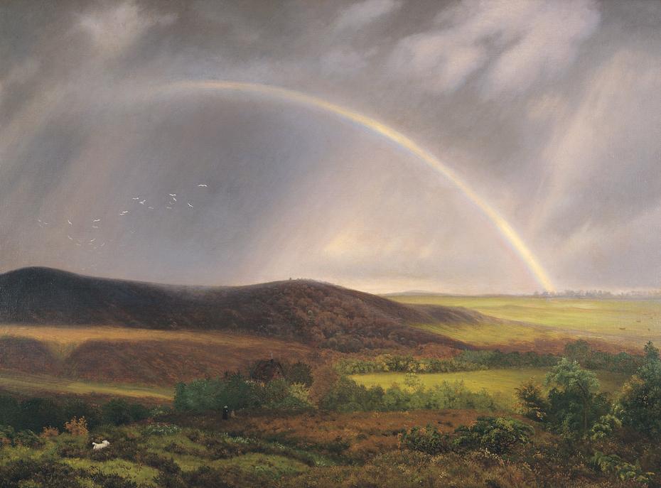 Gathering Storm Near Ry