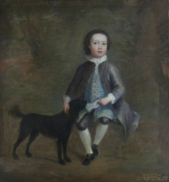 George Venables-Vernon, 2nd Baron Vernon (1735-1813) as a Boy