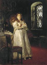 Grand Duchess Sofia at the Novodevichy Convent