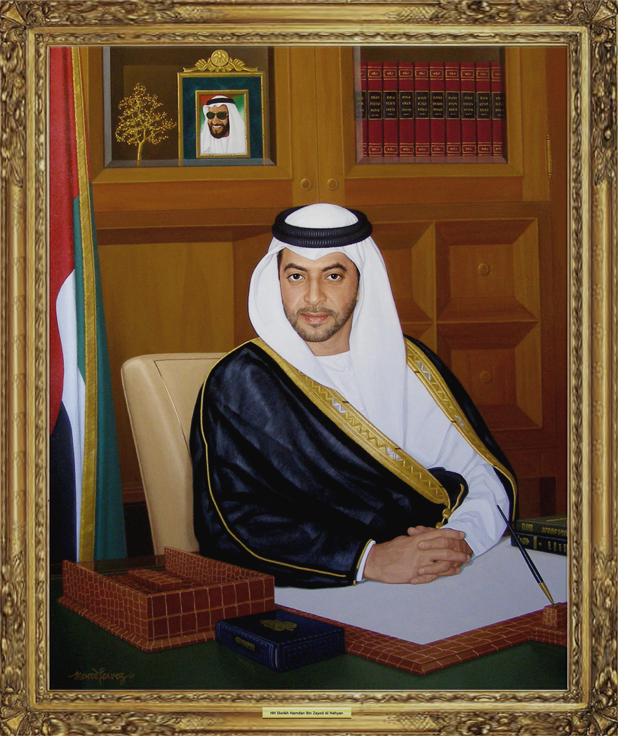 Hh Sheikh Hamdan Bin Zayed Al Nahyan Masood Parvez Artwork On Useum