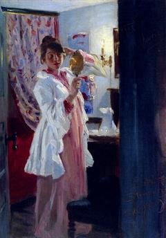 Intérieur avec Marie Krøyer