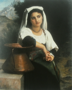 Italian Woman at the Fountain