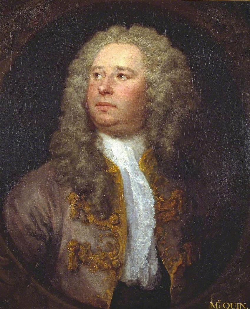 James Quin, Actor