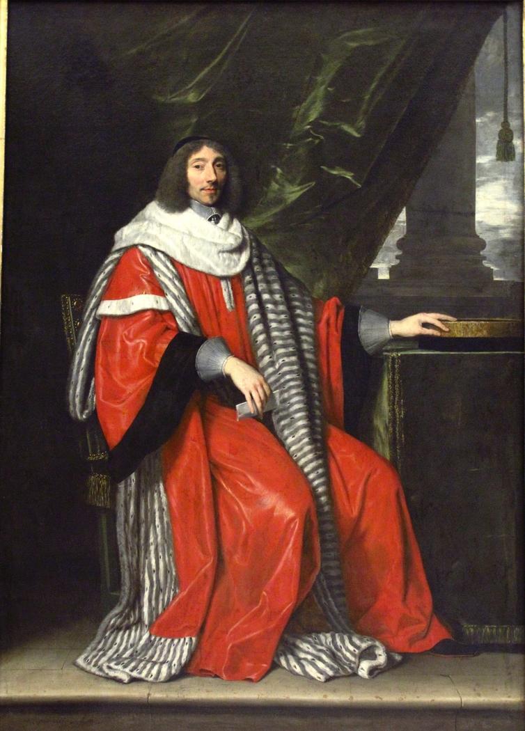 Jean-Antoine de Mesmes, president of Paris'Parliament.