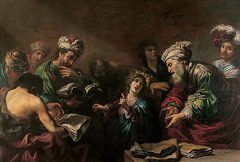 Jésus parmi les docteurs