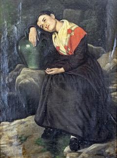 Jeune fille à la cruche