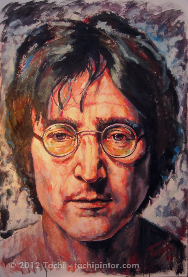 John Lennon Tachi Artwork On Useum