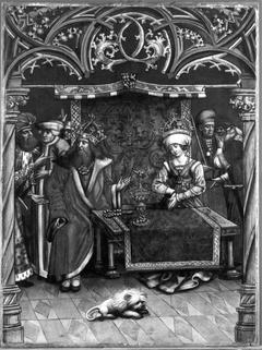 Kaiserin Kunigunde wird des Ehebruchs beschuldigt (Werkstatt)