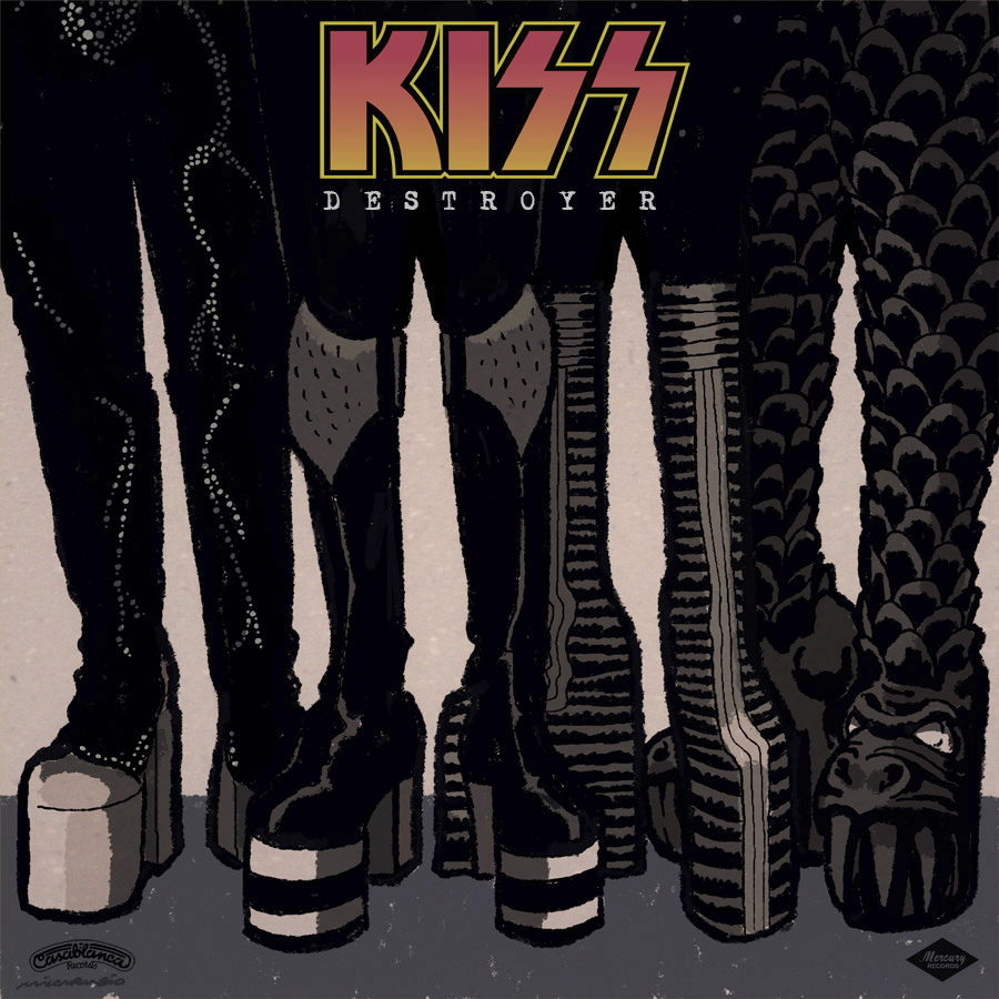 KISS Destroyer Boots
