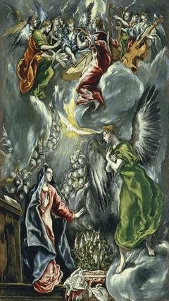La Anunciación (copias del retablo de María de Aragón)