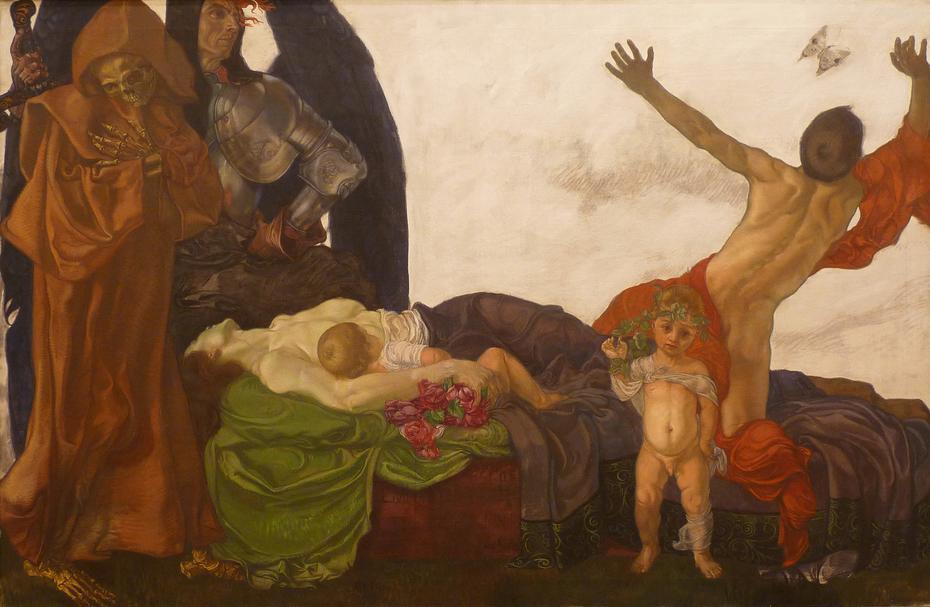 La mort de la mère