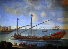 La Réale rentrant au port