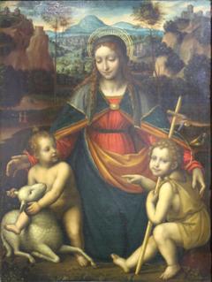 La Vierge à l'Enfant avec saint Jean-Baptiste enfant