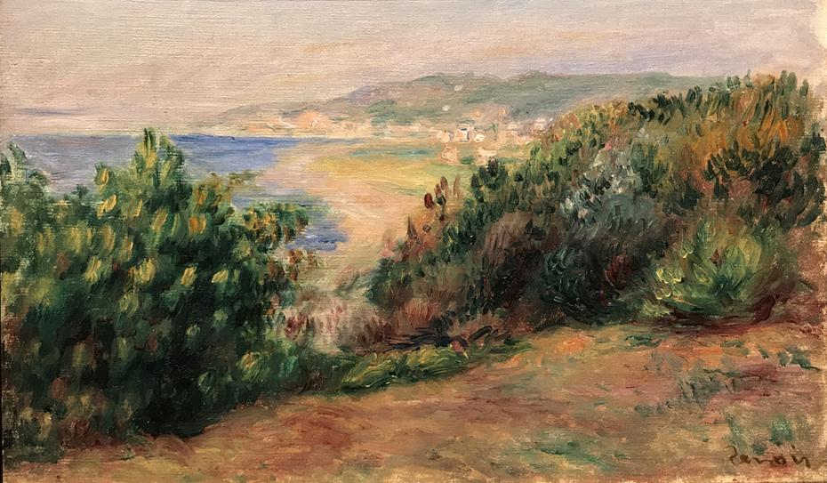 Landscape at Cagnes