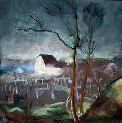 Landscape from Nałęczów.