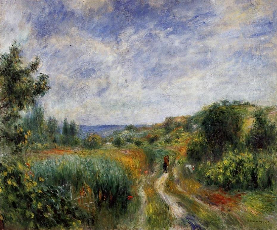Landscape near Essoyes