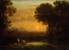 Landscape with Tobias and the Angel (Evening)