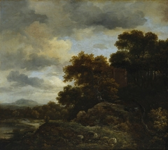 Landscape with Wooded Hill