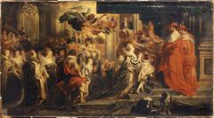 Le Couronnement de Marie de Médicis, le 13 mai 1610