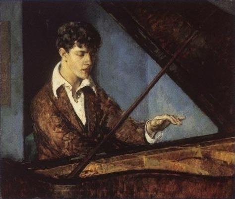 Leo Ornstein at the Piano