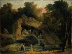Les Bains d'Apollon à Versailles