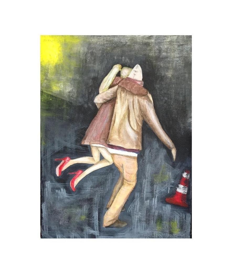 """Lift me up"" acrylic on canvas"