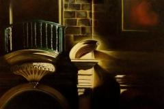 Light Study. 65 x 54cm  oil on canvas