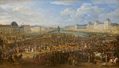 Louis XIV crossing Pont Neuf