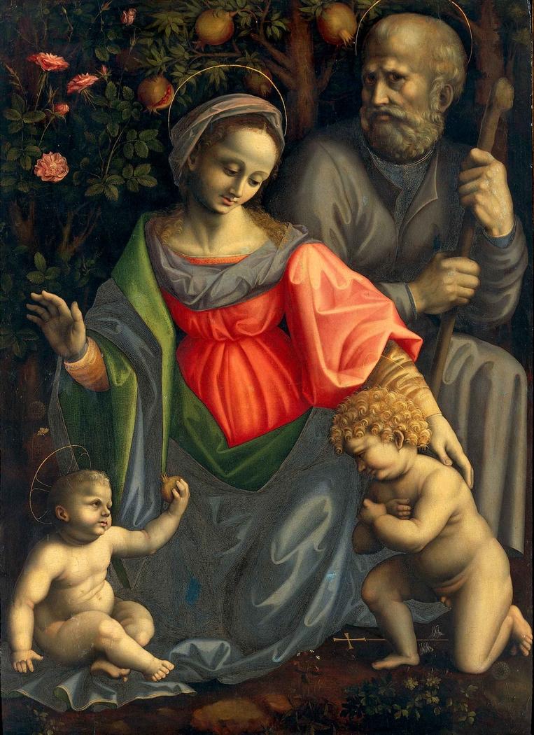 Madonna and Child with Saint Joseph and Infant Saint John