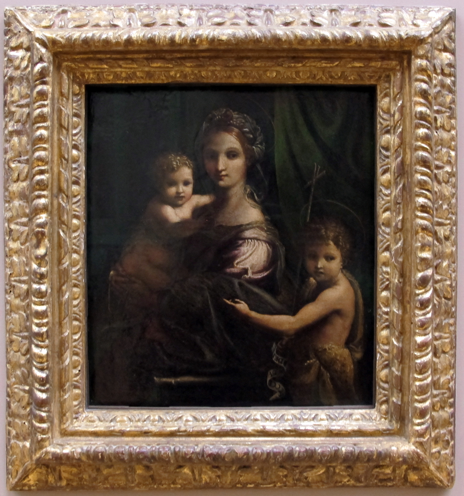 Madonna and Child with the Infant St. John