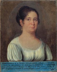 María Consolación Azlor, Countess of Bureta