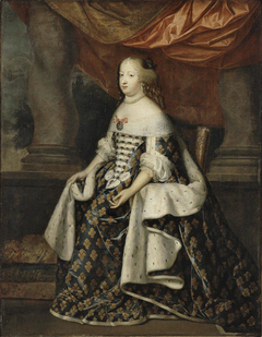 Marie Thérèse of Austria in Royal Costume