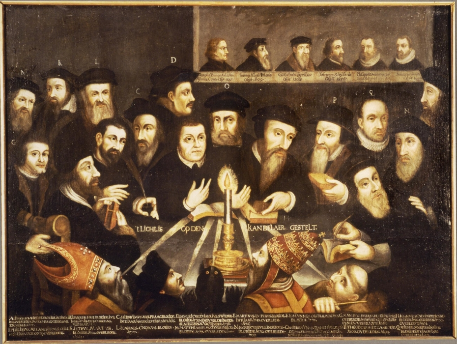 Martin Luther and the Protestant Reformers