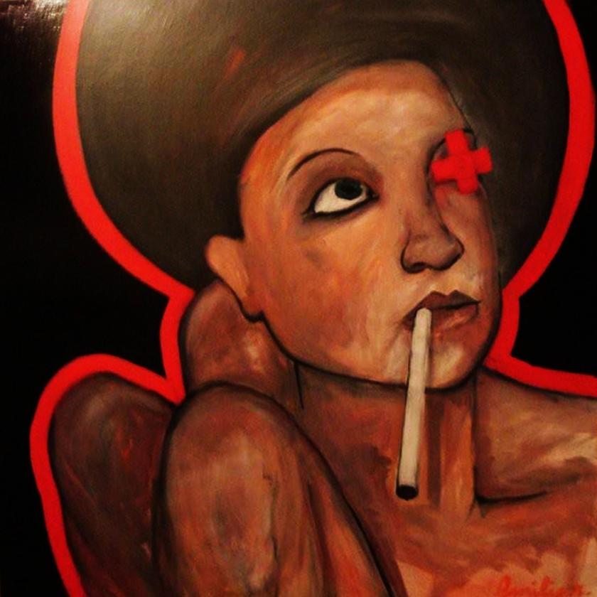 mary smokes