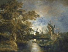 Moonlight on the Yare