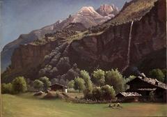 Mountain Farm in Switzerland